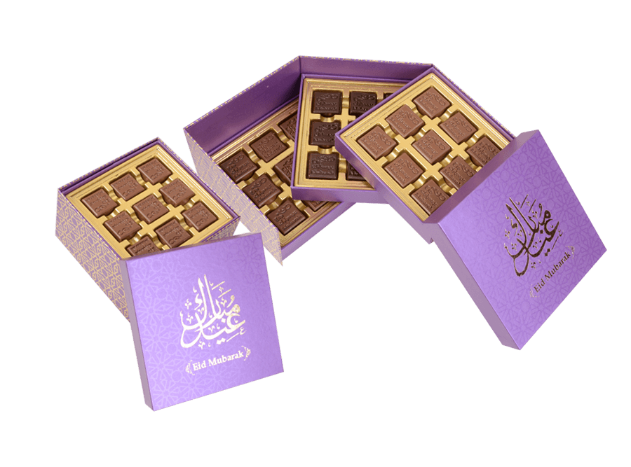 Grand Roulette, 27 Pcs In Customized Belgian Chocolate