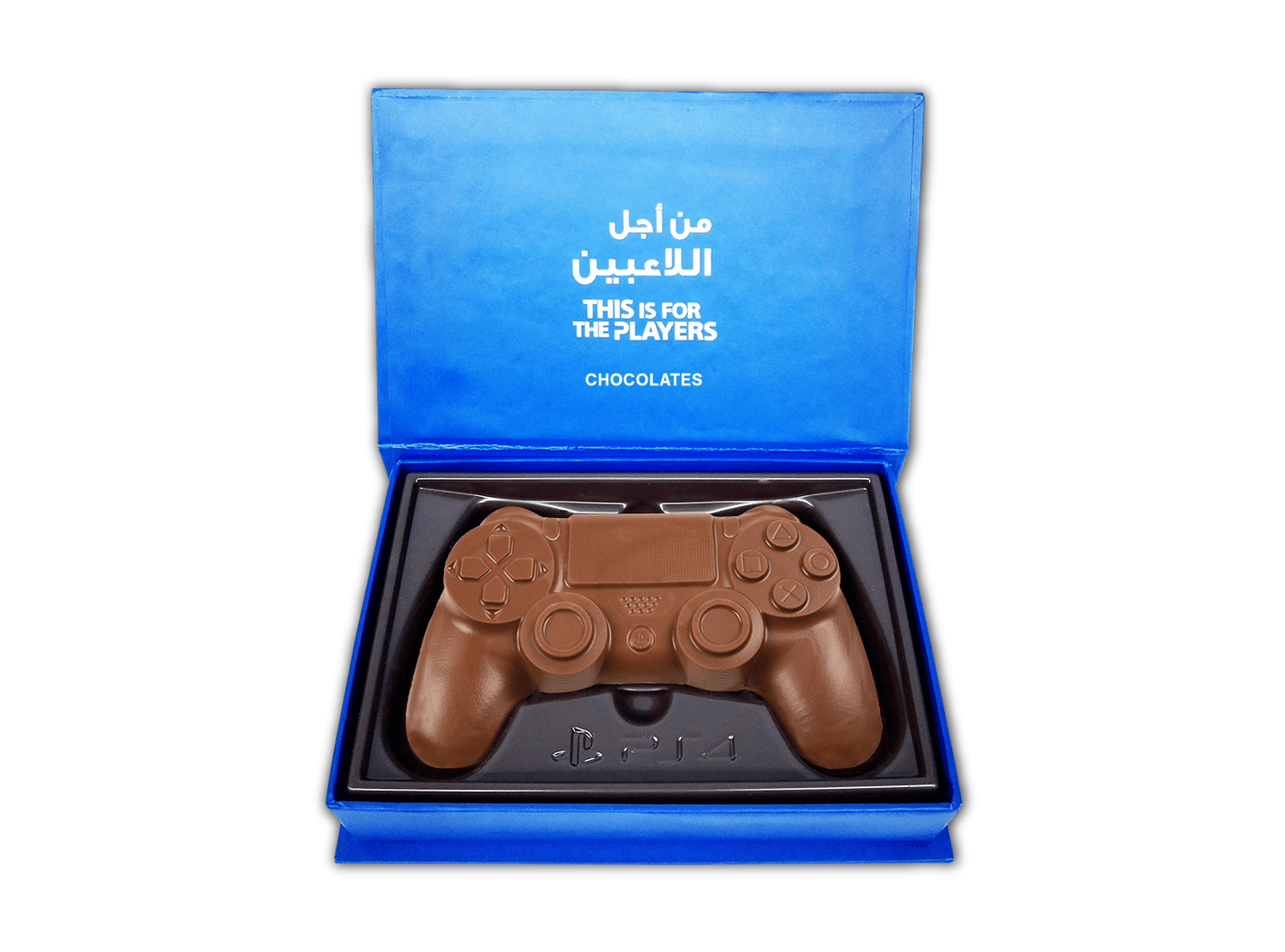 Game Controller, 1 Pc Game Controller In Customized Belgian Chocolates